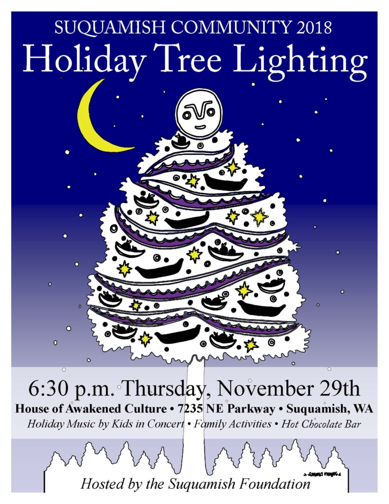Suquamish Holiday Tree Lighting Flyer